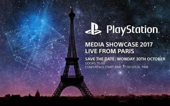 Sony confirms their media showcase event for Paris Games Week
