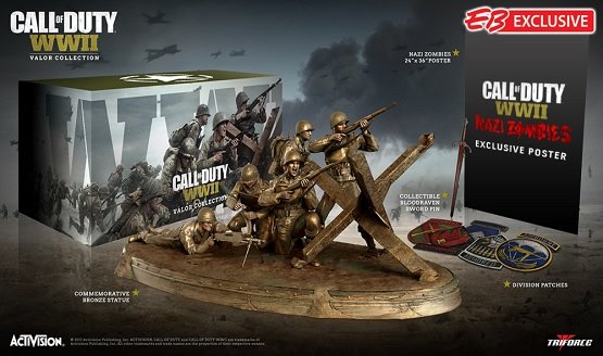 'Call of Duty: WW2 Valor Edition' unveiled, comes with exclusive goodies