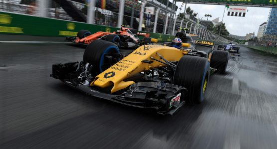 F1 2017 Gets a New Gameplay Trailer