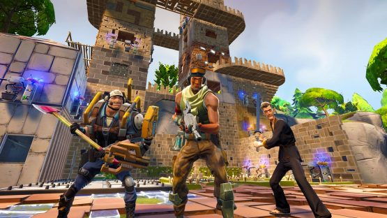 What happens when you combine PUBG and Minecraft? Fortnite's new competitive mode