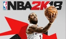 NBA 2K18 Kyrie Irving Cover