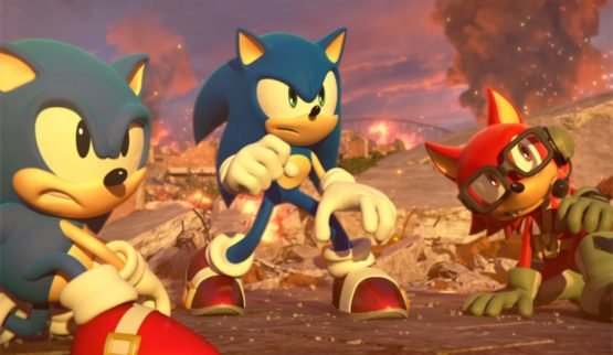 sonic forces gamescom
