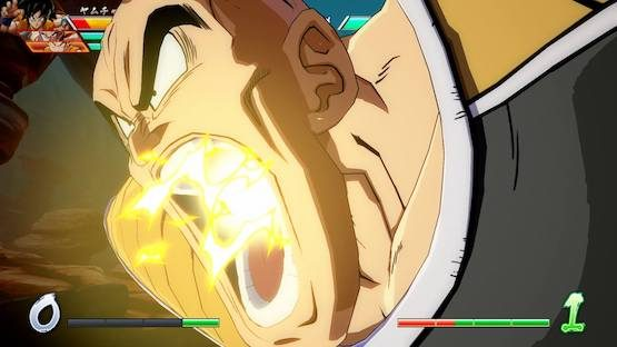 Dragon Ball FighterZ Nappa gameplay