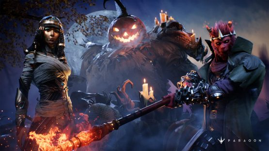 paragon halloween event