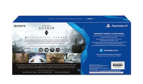 Introducing the PlayStation VR Skyrim VR Bundle – PlayStation.Blog