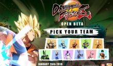 dragon ball fighterz beta roster