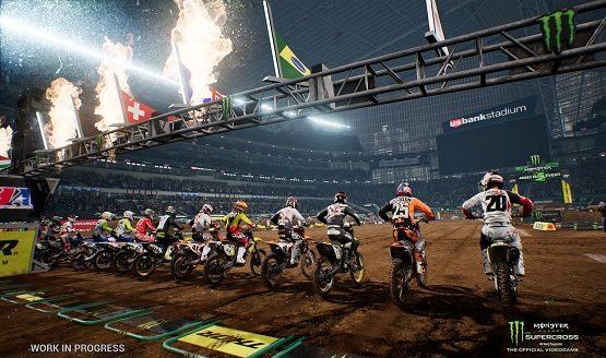 monster energy supercross trophies
