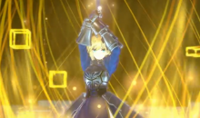 Fate Extella Link Artoria Pendragon gameplay