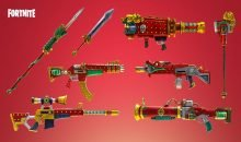 fortnite dragon weapons