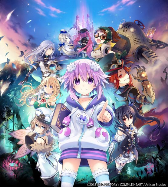 brave neptunia game details
