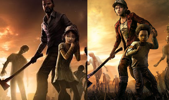 Telltales the walking dead final season the walking dead season 4 comparison