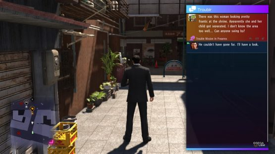 social media in games - Yakuza 6 Troublr