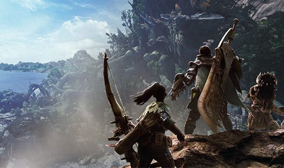 Gears of War Developer Wants Brumak in Monster Hunter World