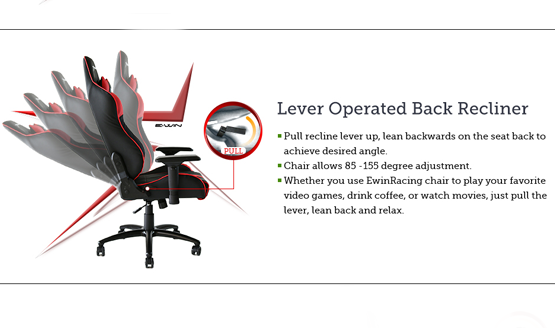ewin champion series gaming chair review 2