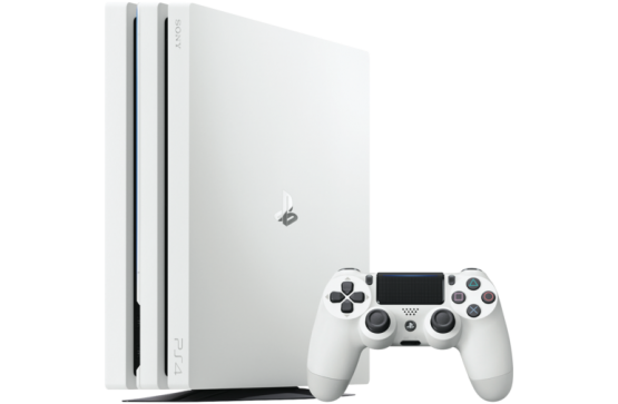 Glacier White Playstation 4 Pro Currently On Sale Videogames