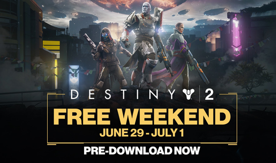 Destiny 2 - Free Weekend | PS4 - YouTube