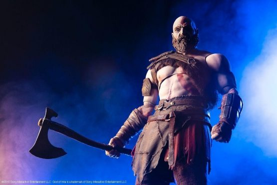 god of war kratos figure