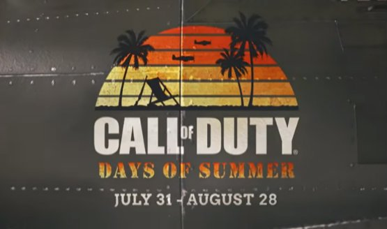 call of duty days of summer
