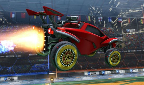 More Rocket League WWE Items Now Available Through In-Game Code