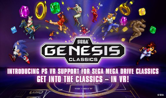 Beam Sonic Directly into Your Eyeballs – Sega Genesis Classics Updated with PSVR Support