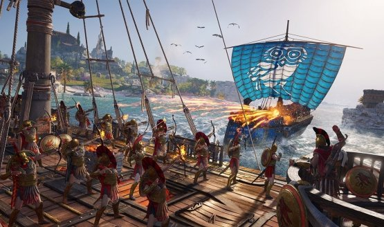 assassins creed odyssey naval combat