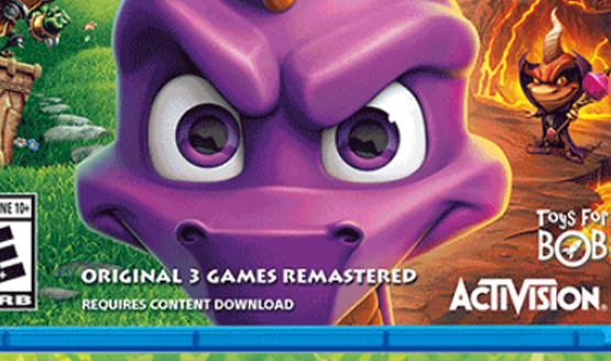 Spyro: Reignited Trilogy Physical Edition Has Big Catch