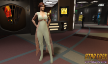 Star Trek Online Victory is Life Leeta Bridge Officer giveaway