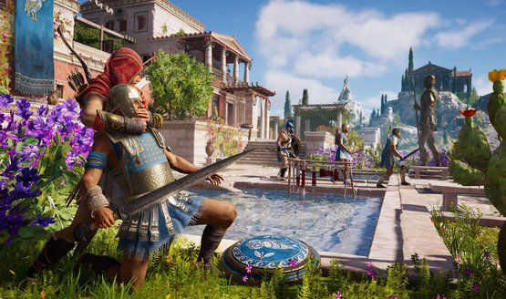 Assassins Creed Odyssey PS4 Looks at How Ubisoft Quebec Recreated Athens