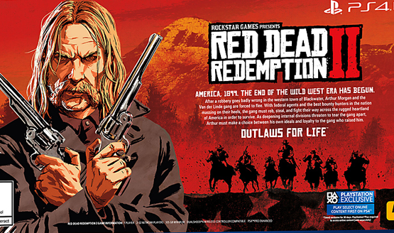 Red Dead Redemption 2 File size