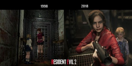 Resident Evil 2 Remake And Original Ps Comparison Images Released