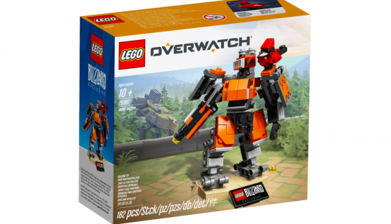 Blizzard Gear Releases Overwatch LEGO With a Bastion Set