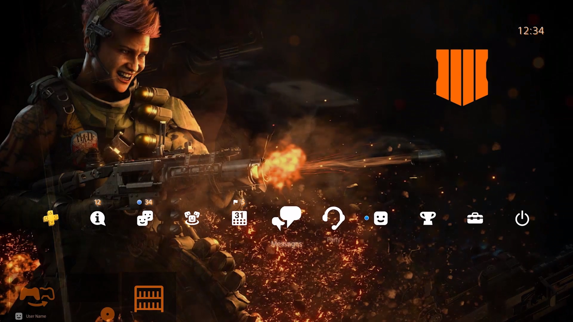 Free Call Of Duty Black Ops 4 Ps4 Theme Part Of Launch Event