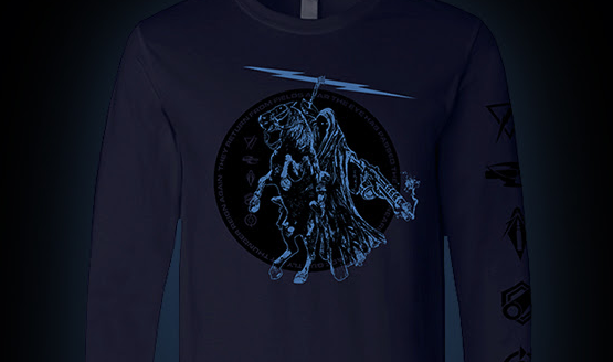 Destiny 2 thunderlord shirt