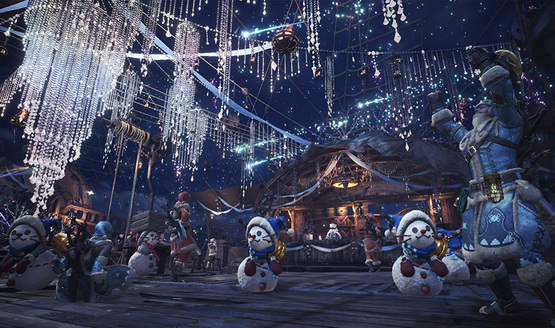 Monster Hunter World Winter Festival Will Fill Your Heart With Cheer