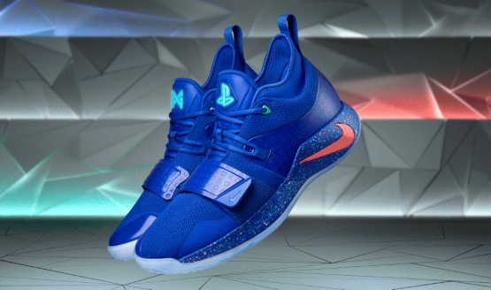 quality design 4cfbe b6ceb Paul George PlayStation Sneaker Gets a Modern Blue Colorway