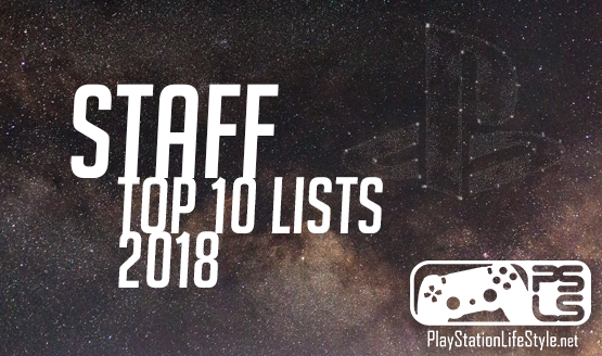 Staff top 10 games of 2018