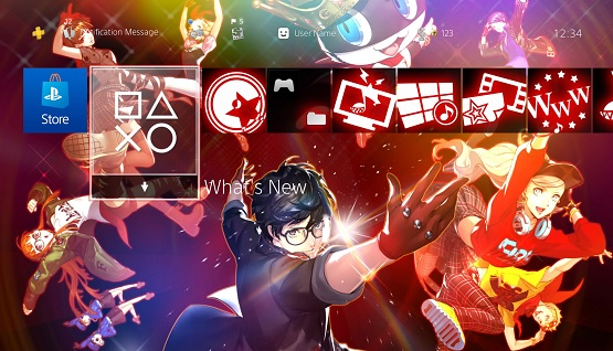 Free Persona PS4 Themes Available for Persona 3 and 5 Dancing