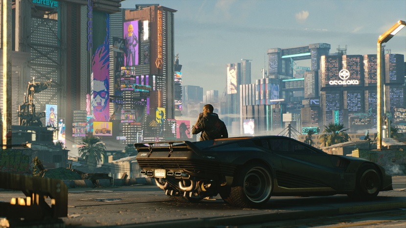 cyberpunk 2077 development
