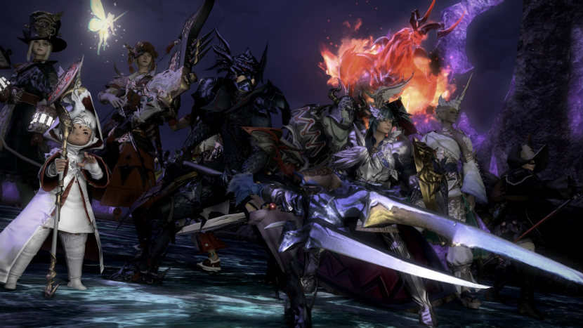 best ongoing ps4 games final fantasy xiv