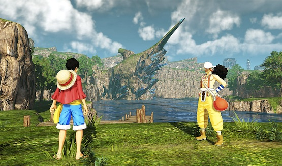 One Piece World Seeker Hot Springs