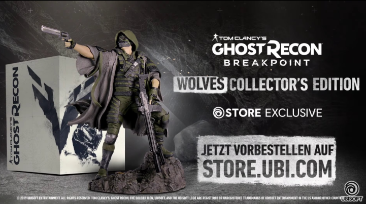 Ghost Recon: Breakpoint Collector's Edition Leaked