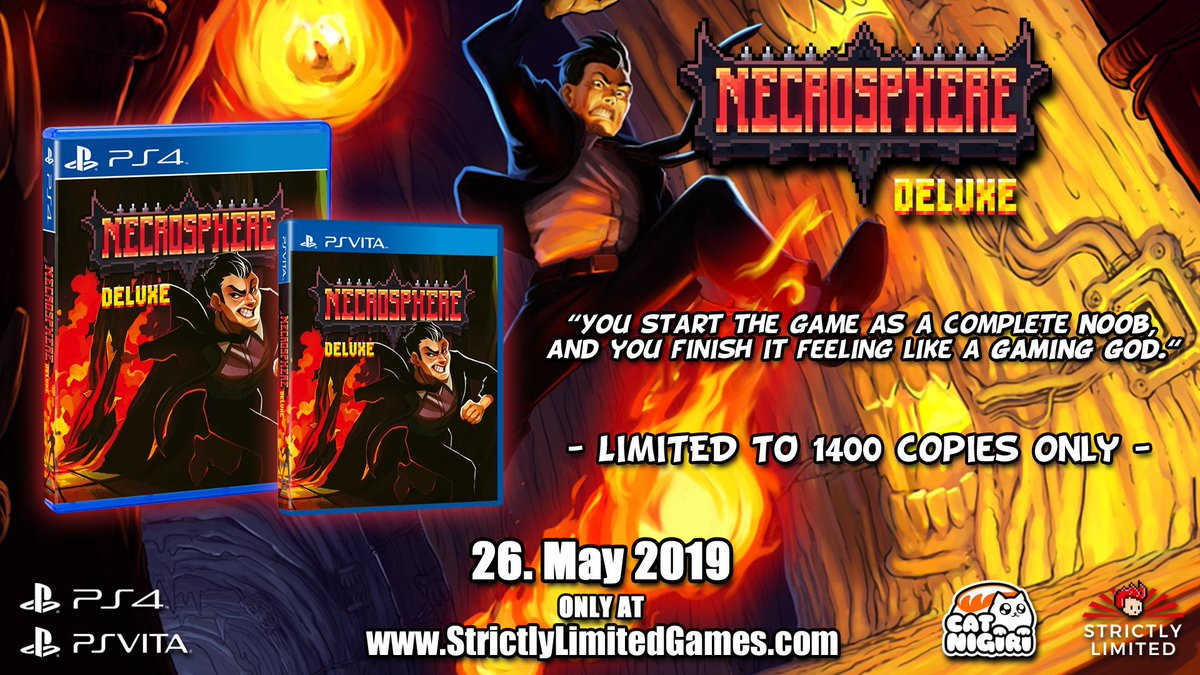 Necrosphere Deluxe Physical Releases