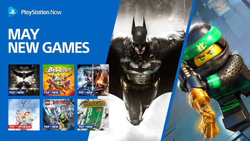 9 New Games Join PlayStation Now May Lineup
