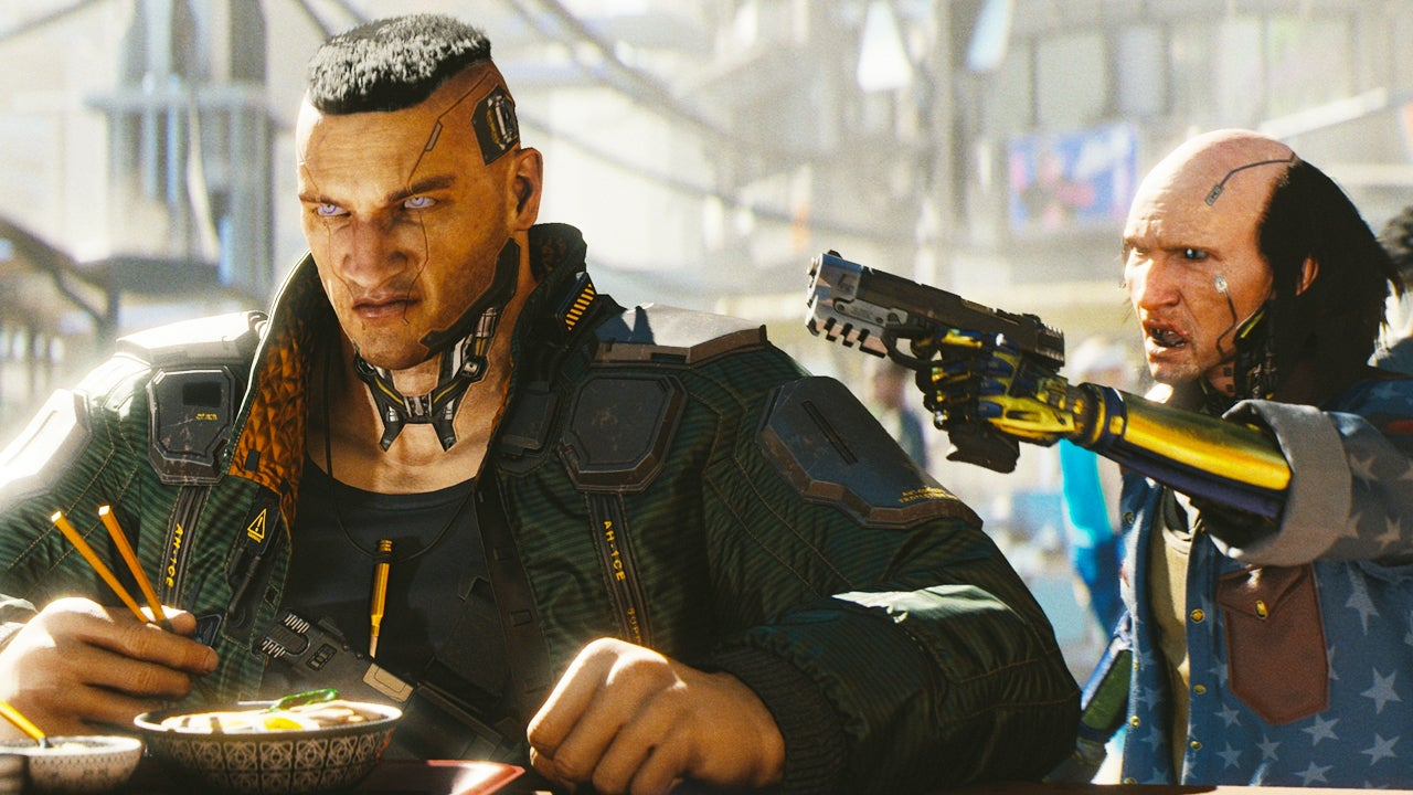 Cyberpunk 2077 is out next April - and it has Keanu Reeves