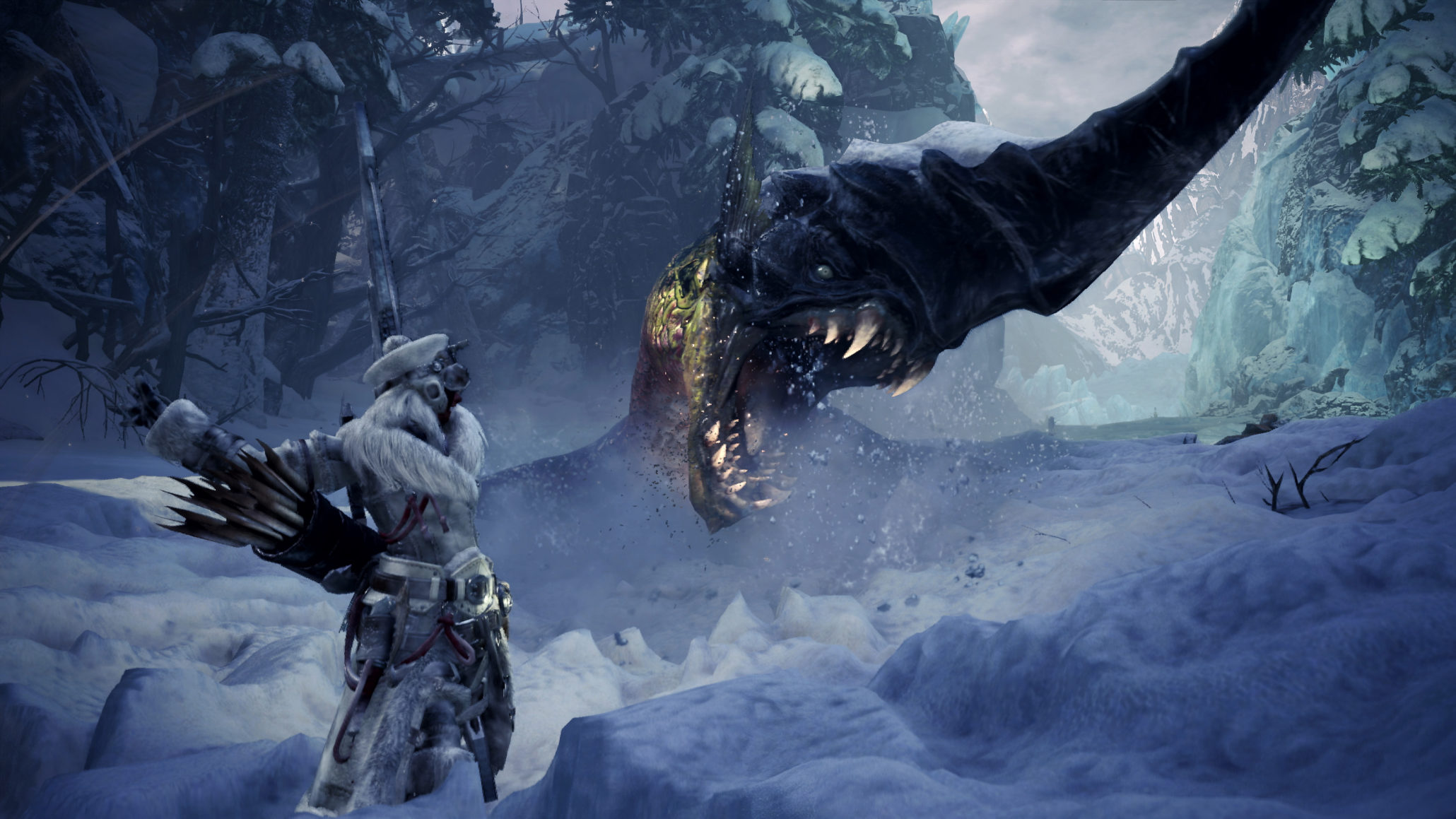 Check out the first trailer for the upcoming Monster Hunter movie