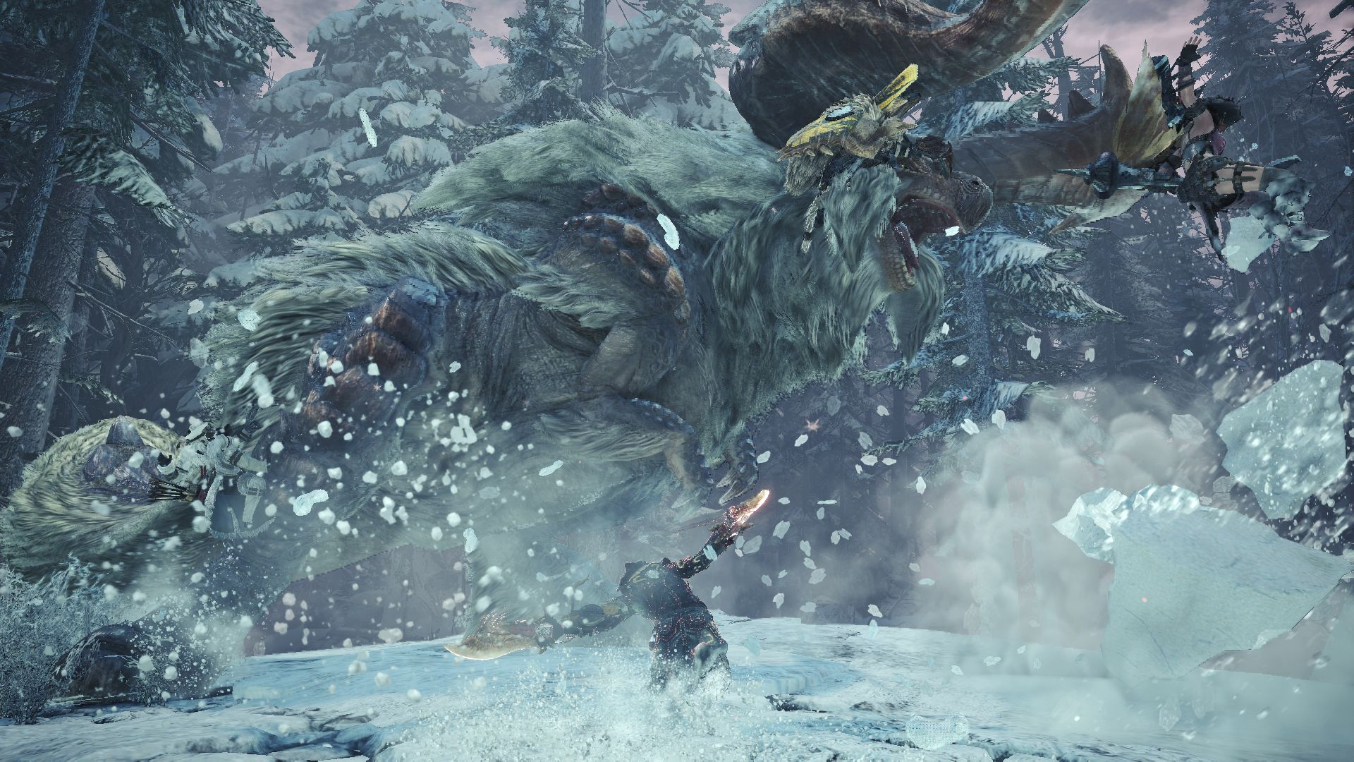 Monster Hunter World Iceborne Hoarfrost Reach
