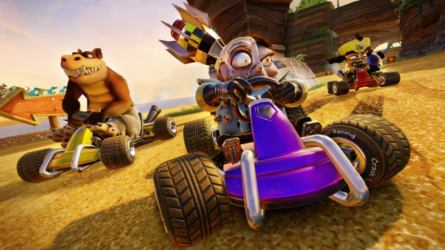 Crash Team Racing Nitro-Fueled Has Already Taken the UK Sales Charts By Storm