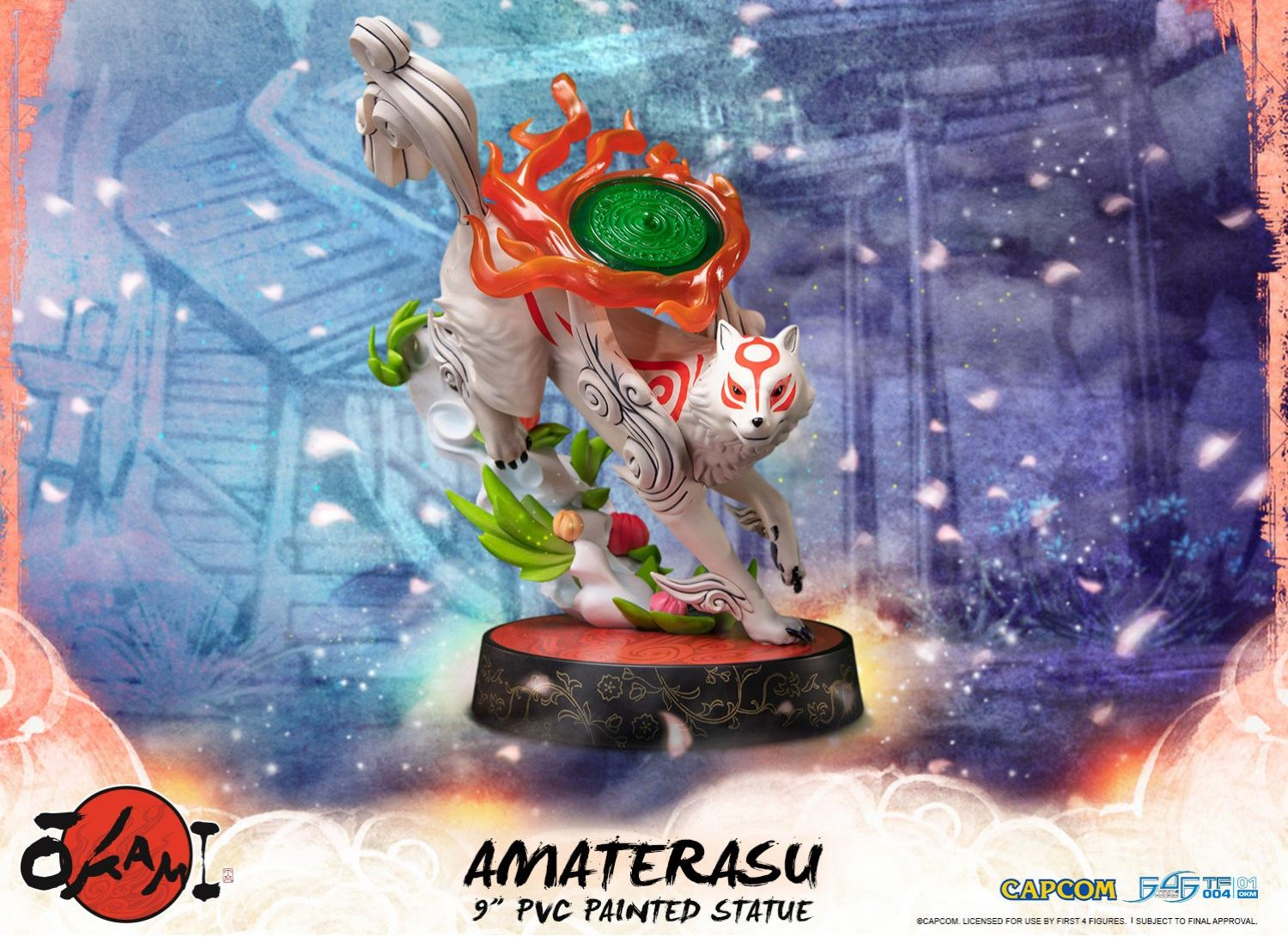 This Beautiful Okami Statue Is Now Available for Pre Order