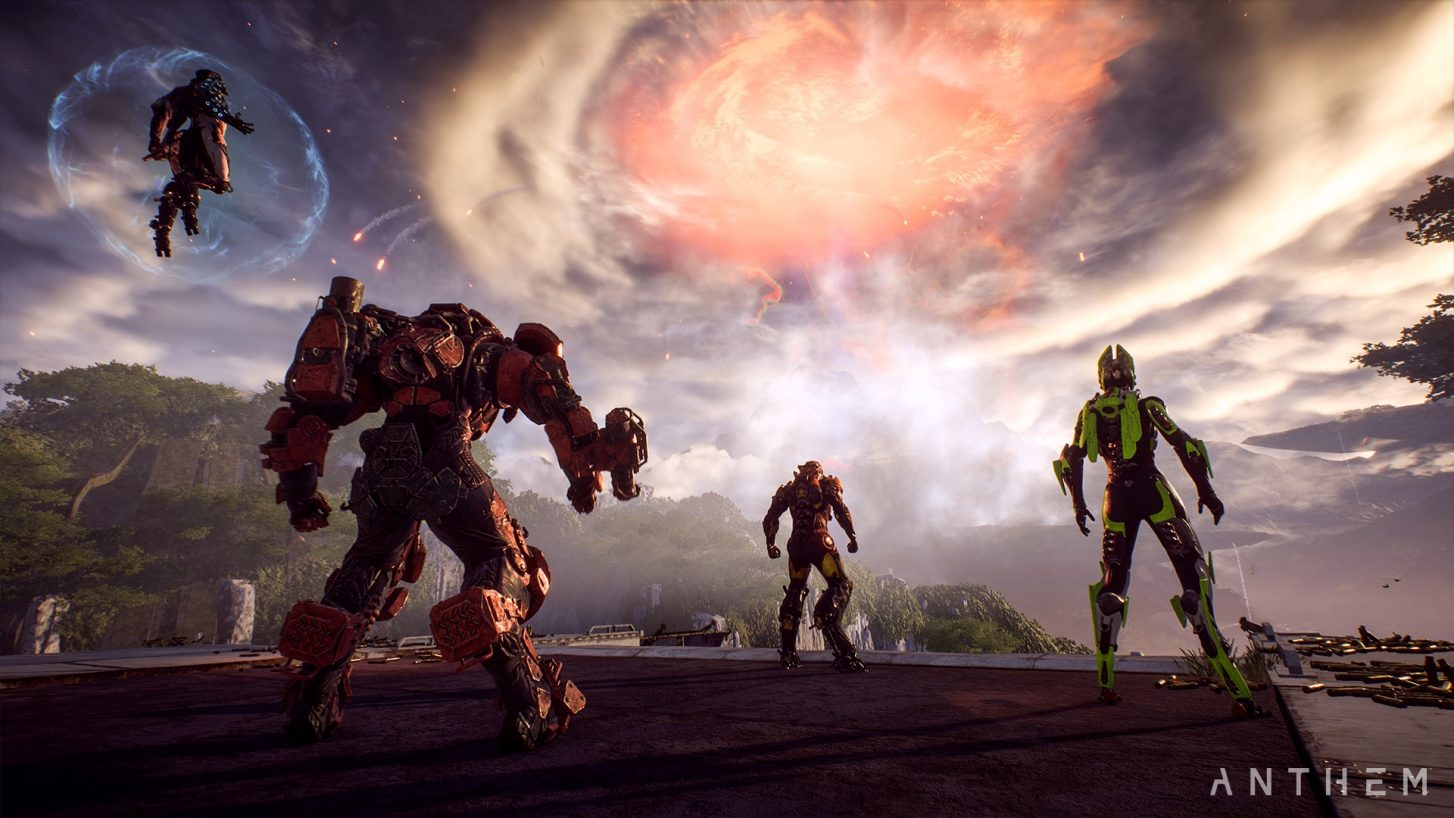 Anthem Update 1.3.0 Adds Cataclysm Event, New Weapon Classes