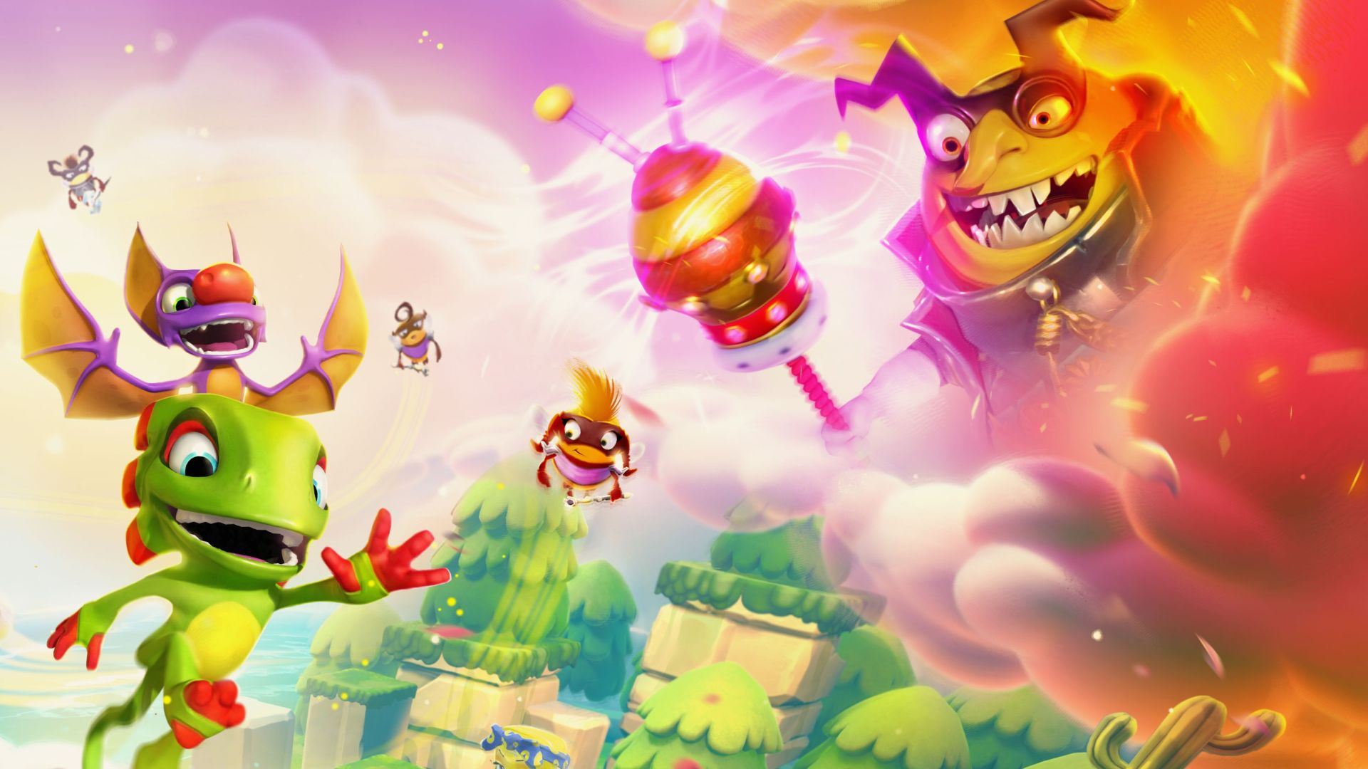 Yooka-Laylee and the Impossible Lair release date